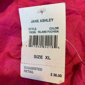 Jane Ashley Tops - Women's Jane Ashley Sz XL pink short sleeve top